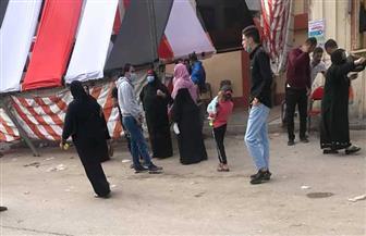 النساء وأطفالهن يتصدرون المشهد في لجان المطرية   صور