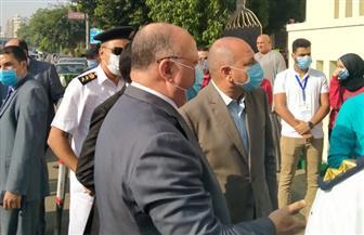 لليوم الثاني.. محافظ القاهرة يتفقد لجان النزهة ومصر الجديدة للاطمئنان على عملية التصويت