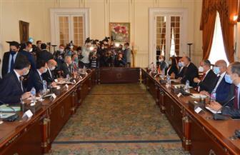بدء جلسة مباحثات رسمية بين مصر وفرنسا بوزارة الخارجية | صور