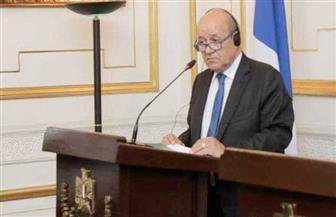 وزير خارجية فرنسا: يجب حل الأزمة الليبية وفق مقررات برلين