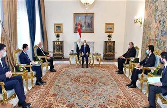 الرئيس السيسي يبحث مع لودريان سبل تعزيز جهود مواجهة تصاعد نبرات التطرف والكراهية