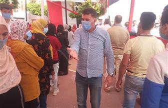 السيدات يتصدرن المشهد في اليوم الثاني لانتخابات «النواب» بلجان «السلام»   صور