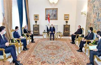خلال لقائه وزير خارجية فرنسا.. الرئيس السيسي يؤكد الحاجة الملحة لعدم المساس بالرموز الدينية