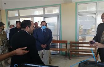 محافظ شمال سيناء يتفقد لجان الشيخ زويد| صور