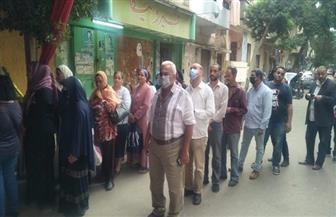 إقبال كثيف بلجان مدرسة العامرية في روض الفرج| فيديو وصور