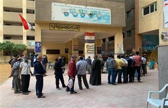 استمرار إقبال الناخبين بكثافة بلجان المطرية  صور