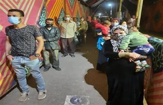 إقبال كبير من الناخبين على لجان مدرسة رمسيس الخاصة بشبرا الخيمة | صور