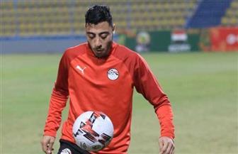 أكرم توفيق ينضم لمعسكر المنتخب الأوليمبي بعد استبعاده من قائمة «الفراعنة»