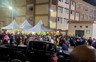 """تزاحم الناخبين أمام لجان """"حي الأسمرات"""" للإدلاء بأصواتهم في انتخابات مجلس النواب   صور وفيديو"""