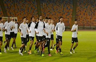 المنتخب الأوليمبي يبدأ معسكره المغلق بحضور وزير الشباب والرياضة | صور
