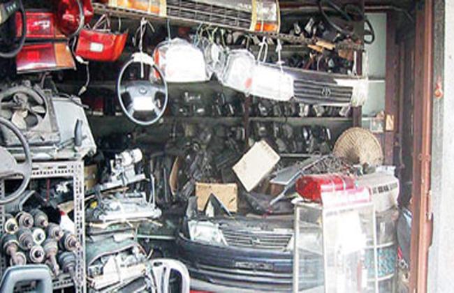 ضبط  قضية غش وتقليد لقطع غيار السيارات والأجهزة الكهربية خلال حملة أمنية