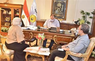 محافظ أسيوط يعتمد محضر جلسة استماع المخطط الاستراتيجي العام لمدينة أبوتيج | صور