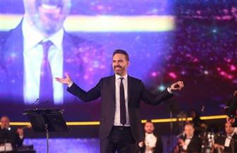 في الليلة الثامنة لمهرجان الموسيقى العربية.. حضور لافت وتفاعل جماهيري ضخم مع وائل جسار وهمام إبراهيم|صور