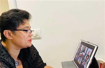 نميرة نجم تلقي محاضرة للدبلوماسيين الجدد في  الإكوادور|صور