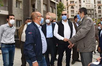 """وزير الإسكان يختتم جولته بالعاصمة الإدارية الجديدة بتفقد الحي السكني """"كابيتال ريزيدانس""""  صور"""