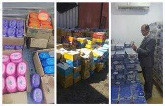 حماية المستهلك: ضبط 332 طن مواد غذائية مجهولة المصدر بـ 4 مخازن غير مرخصة