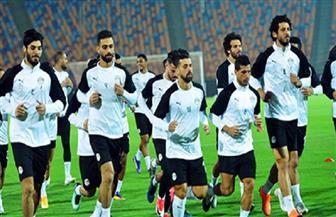 أحمد حجازي يشارك في تدريبات المنتخب المصري