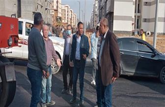 """مسئولو جهاز """"بدر"""" يتفقدون المرحلة الثانية من مشروعات تطوير الطرق بالمدينة"""