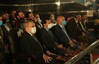 """وزيرا """"الإنتاج الحربي"""" و""""الشباب"""" يكرمان سيدات """"تنس الطاولة"""" الفائزات بالمركز الثاني بدوري الوزارات"""