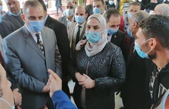 محافظ كفرالشيخ ووزيرة التضامن الاجتماعي يتفقدان دار الأمل للأطفال الأيتام وجمعية الهلال الأحمر| صور