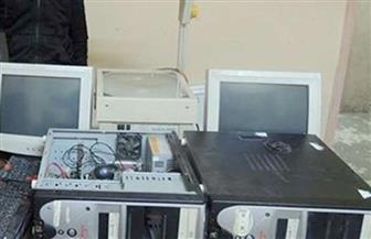 كشف ملابسات سرقة أجهزة كمبيوتر من داخل مدرسة بالإسماعيلية