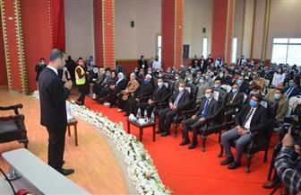 رئيس جامعة سوهاج يشارك بالجلسة الحوارية بمؤتمر «سوهاج المستقبل»   صور