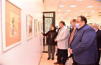 محافظ أسيوط يفتتح معرض فنانات من صعيد مصر للفن التشكيلي بقصر الثقافة | صور