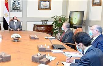 الرئيس السيسي يتابع المشروع القومي لإنشاء وتطوير مراكز تجميع الألبان على مستوى الجمهورية