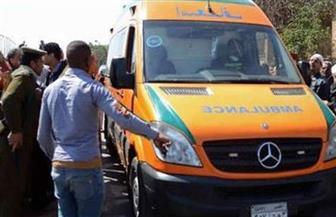 إصابة فتاة صدمتها سيارة أثناء عبورها الطريق بمصطفى النحاس