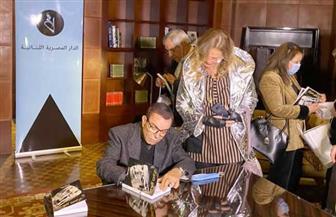 سمير صبري يوقع كتابه «حكايات العمر كله».. ويؤكد: قلت ما يمليه على ضميري