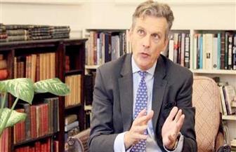 سفير المملكة المتحدة في القاهرة لـ«الأهرام»: نتعاون مع مصر بمكافحة الإرهاب.. ولا نتهاون مع من يخالف القوانين