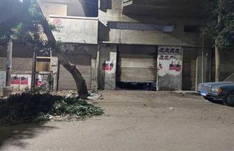 إغلاق ورش مخالفة في حي غرب مدينة نصر