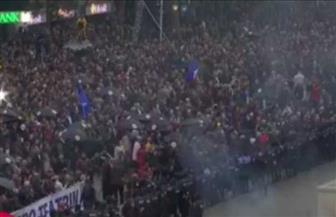 مظاهرات في ألبانيا احتجاجا على مقتل رجل برصاص الشرطة