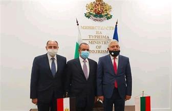 مصر وبلغاريا تبحثان سبل تعزيز التعاون في عدد من المجالات ذات الاهتمام المشترك | صور