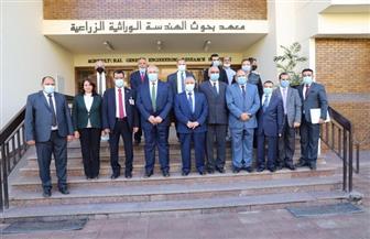 وزير الزراعة ونظيره العراقي يتفقدان معاهد ومعامل مركز البحوث الزراعية