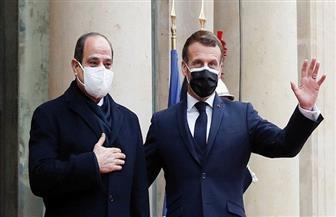 ناقشت جميع الملفات الثنائية والإقليمية والدولية.. قمة مصرية - فرنسية ناجحة