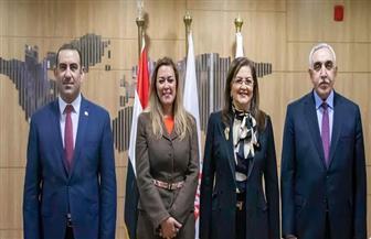 المديرة التنفيذية للأكاديمية الوطنية للتدريب تستقبل وزيري التخطيط المصري والعراقي | صور