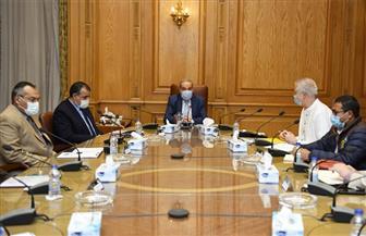 وزير الإنتاج  الحربي يبحث مستجدات التعاون لتحويل النفايات إلى طاقة كهربائية