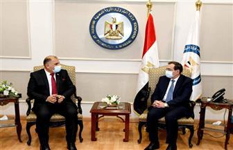 الملا: مصر والعراق يتبنيان رؤية مشتركة لتبادل الخبرات في مجال البترول والثروة المعدنية
