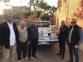 تموين الفيوم: ضبط 750 علبة سجائر لتجمعيها للبيع في السوق السوداء|صور