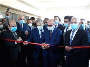 وزير العدل ومحافظ بورسعيد يفتتحان أعمال تطوير مبنى محكمة بورسعيد | صور