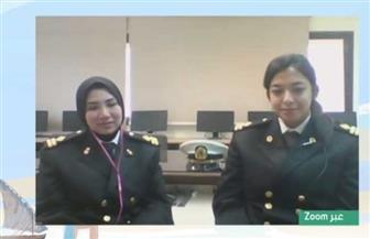أول فتاتين في مصر تحصلان على جواز سفر بحري على سفن الصيد   فيديو