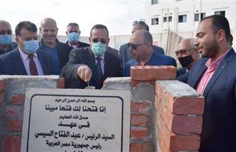 محافظ شمال سيناء يضع حجر الأساس لدار الرعاية المتكاملة للأيتام بالعريش | صور