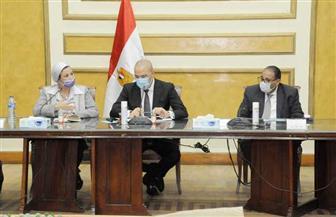 وزيرا الإسكان والبيئة يترأسان اجتماع اللجنة الوطنية لدراسة مشروع جبال سيناء   صور