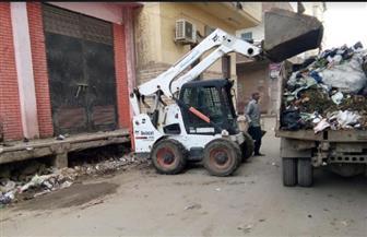 رفع 2210 أطنان مخلفات من شوارع كفرالشيخ