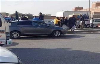 مباحث المرور تكشف سبب حادث تصادم 4 سيارات بقليوب.. وخروج 5 مصابين من المستشفى