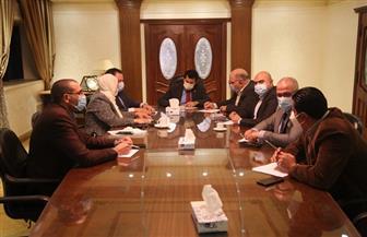 وزير الرياضة يلتقي مجالس أمناء مركز شباب الجزيرة والمدينة الشبابية والرياضية بالأسمرات