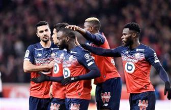 ليل يعتلي صدارة الدوري الفرنسي بفوزه على بوردو