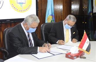 جامعة طنطا توقع بروتوكول تعاون علمي وطبي مع جامعة العريش | صور