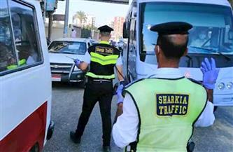 تحرير 407 مخالفات مرورية في حملة بطرق وشوارع الغربية